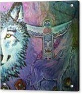 Wolf Protector Acrylic Print