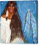Wolf Woman Acrylic Print