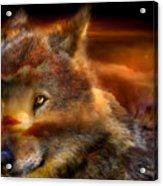 Wolfland Acrylic Print