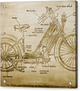 Wolfmueller Motor Cycle 1894 Acrylic Print