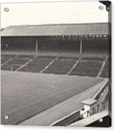 Wolverhampton - Molineux - South Terrace 1 - Bw - Leitch - September 1968 Acrylic Print