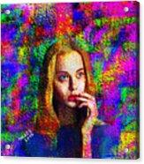 Woman 378 Acrylic Print