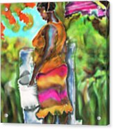 Woman At The Well Acrylic Print