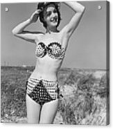 Woman In Bikini, C.1950s Acrylic Print