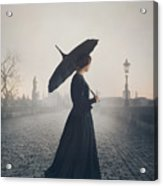 Woman In Mourning Acrylic Print
