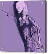 Woman In Shadows Acrylic Print