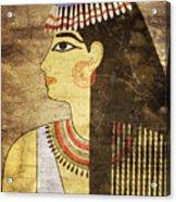 Woman Of Ancient Egypt Acrylic Print