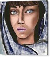 Woman Portrait Acrylic Print