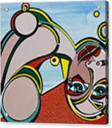 Woman Acrylic Print