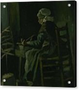 Woman Winding Yarn Nuenen, March 1885 Vincent Van Gogh 1853 - 1890 Acrylic Print