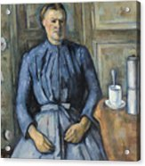 Woman With A Coffeepot  Acrylic Print