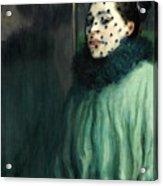 Woman With A Veil Acrylic Print