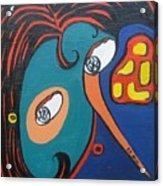 Woman12 Acrylic Print