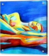 Womanly Figure Acrylic Print