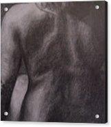 Woman's Back Acrylic Print