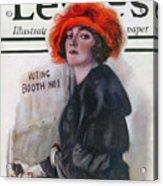 Women Voting, 1920 Acrylic Print