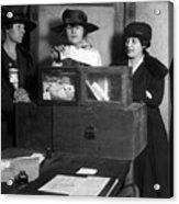 Women Voting, C1917 Acrylic Print