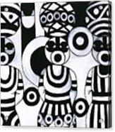 Women With Calabashes IIi Acrylic Print
