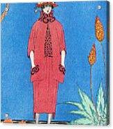 Womens Fashion, George Barbier, 1921 Acrylic Print