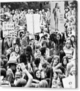 Womens Lib, 1971 Acrylic Print by Granger