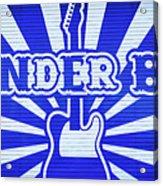 Wonder Bar - Sign Acrylic Print