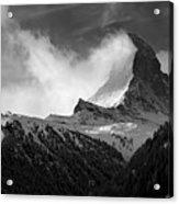 Wonder Of The Alps Acrylic Print by Neil Shapiro