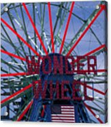 Wonder Wheel Acrylic Print