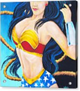 Wonder Woman Acrylic Print