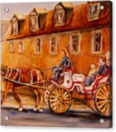 Wonderful Carriage Ride Acrylic Print