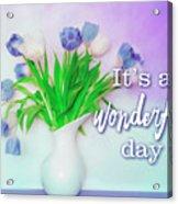 Wonderful Day Acrylic Print