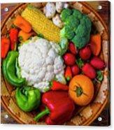 Wonderful Fresh Vegetables Acrylic Print