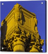 Wonderful Palace Of Fine Arts Acrylic Print