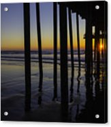 Wonderful Pismo Sunset Acrylic Print