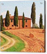 Wonderful Tuscany, Italy - 02 Acrylic Print