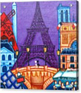 Wonders Of Paris Acrylic Print