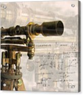 Wood And Brass Transit Acrylic Print