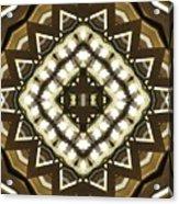 Wood And Light Shield Acrylic Print
