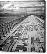 Wood And Pier Acrylic Print