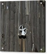 Wood And Wheel Acrylic Print