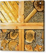 Insect Hotel #1 Acrylic Print