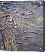 Wood Face  Acrylic Print