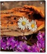 Wood - Id 16235-142749-1958 Acrylic Print