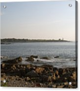 Wood Island Lighthouse 1 Acrylic Print