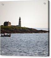 Wood Island Lighthouse 3 Acrylic Print
