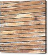 Wood Lines Acrylic Print