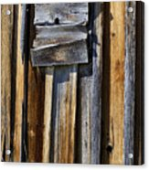 Wood On Wood Acrylic Print