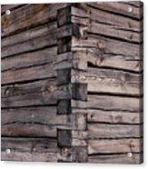 Wood Walls Acrylic Print
