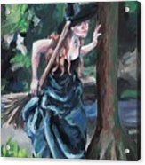 Wood Witch Acrylic Print