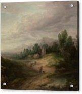 Wooded Upland Landscapewooded Upland Landscape By Thomas Gainsborough, Circa 1783 Acrylic Print