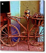 Wooden Bicycle Acrylic Print